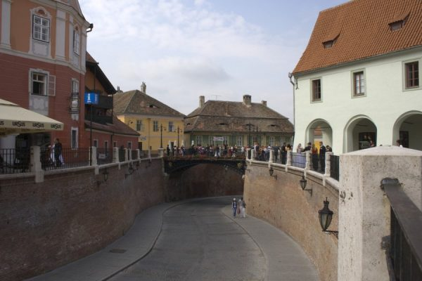 Sibiu, Romania. The place where roofs have eyes. By Jurjen