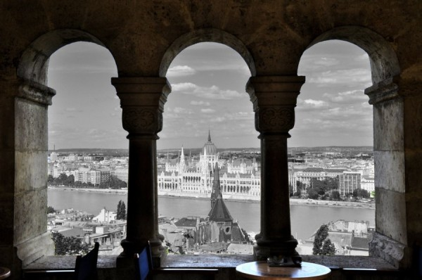 Beautiful view in Budapest. By Weijie