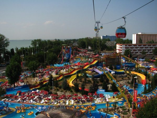 The Aqua Park in Mamaia