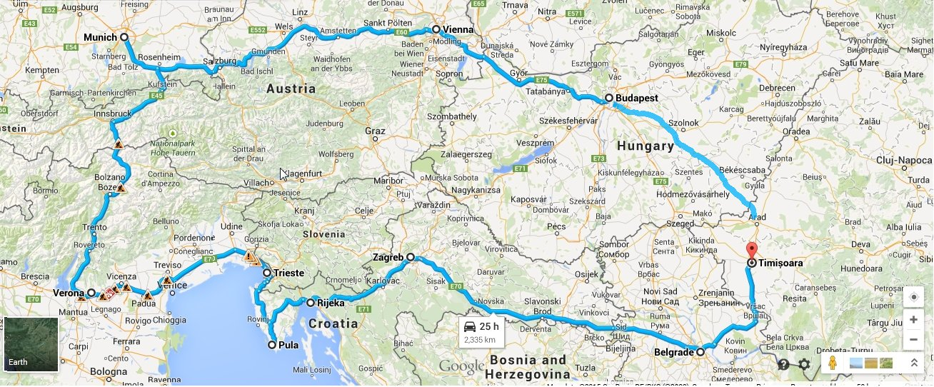 Preparing for a Budget Trip Around Europe by Train – Train Travel Europe Map
