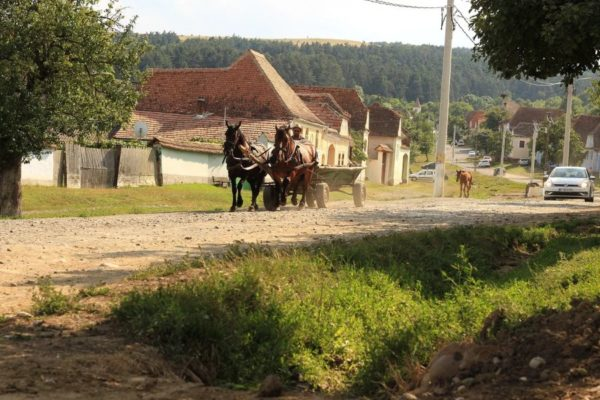 Living on $500 per month in a Romanian village