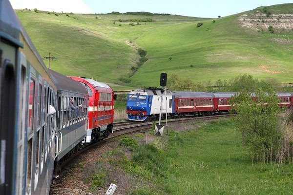 Trains in Romania