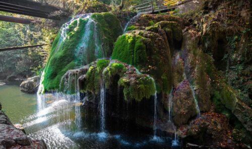 Bigar Waterfall Romania