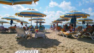 Albea beach and sea