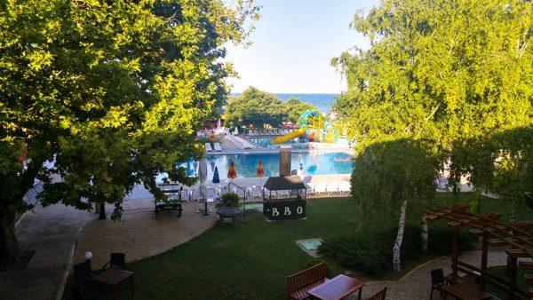 Hotel Kaliakra restaurant view