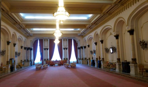 Palace of Parliament meeting hall