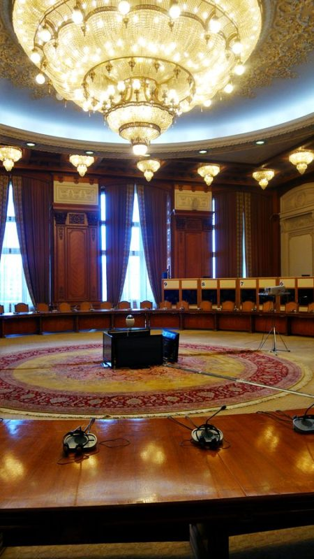 Palace of Parliament round table