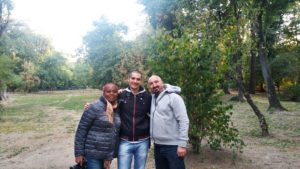 Meeting fellow blogger Kemkem and Federico