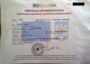 Romanian Residence Permit