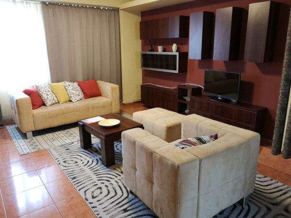 Romanian apartment room