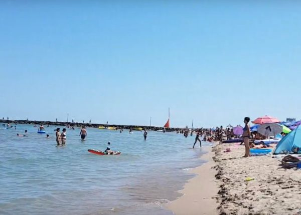 Neptun Beach, romania
