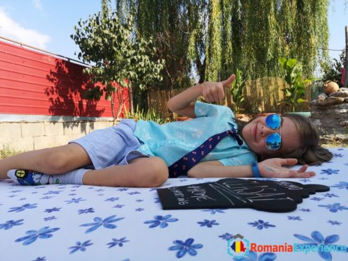 Homeschooling in a Romanian village