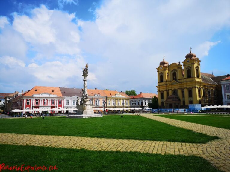 Timisoara, one of the top cities in Romania