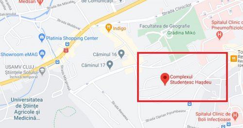 Hasdeu Neighborhood map