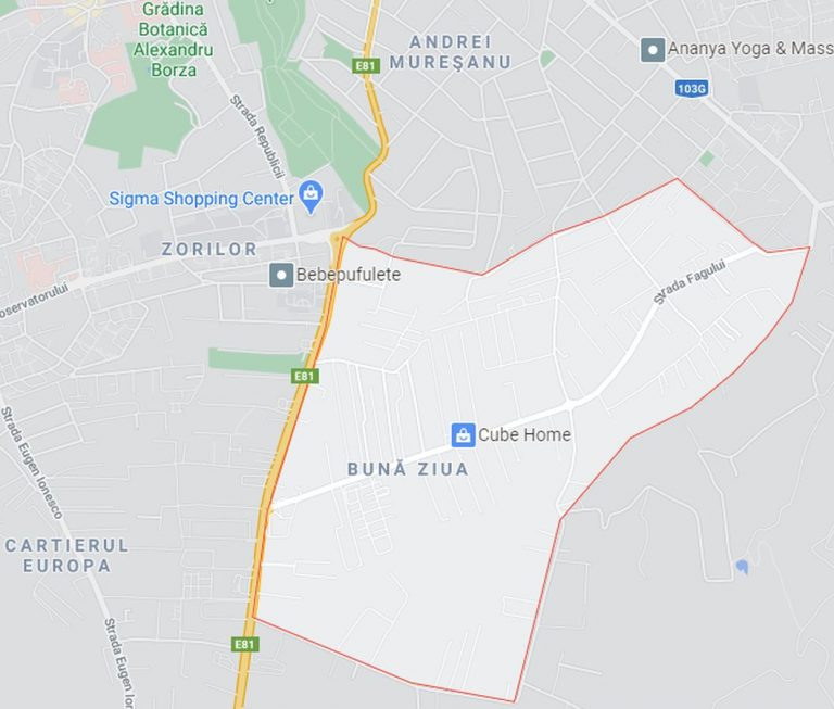 Buna Ziua neighborhood map