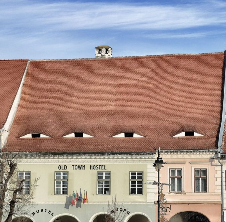houses with eyes sibiu