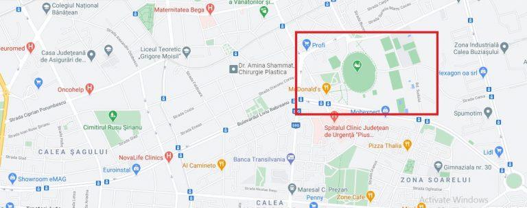 Olimpia Stadion Neighborhood Timisoara
