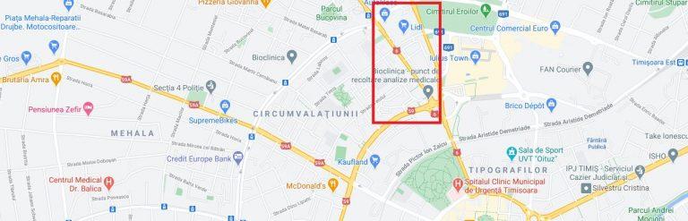 Dacia Neighborhood Timisoara