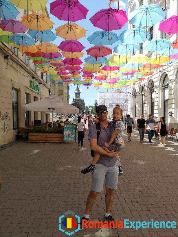 Umbrellas Timisoara