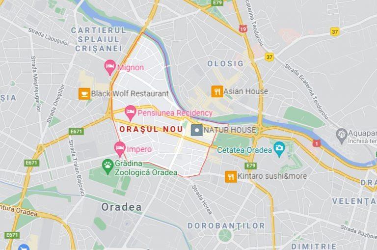 Orasul Nou Neighborhood Oradea