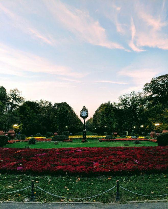 cismigiu gardens bucharest