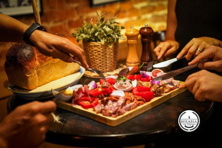 beraria 700 traditional platter
