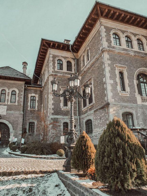 cantacuzino castle romania