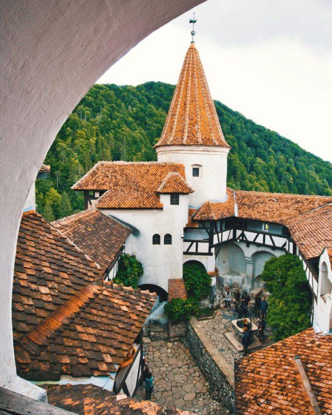inside bran castle