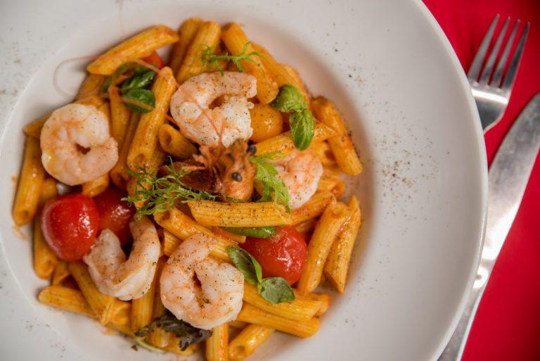 riviere brasserie pasta